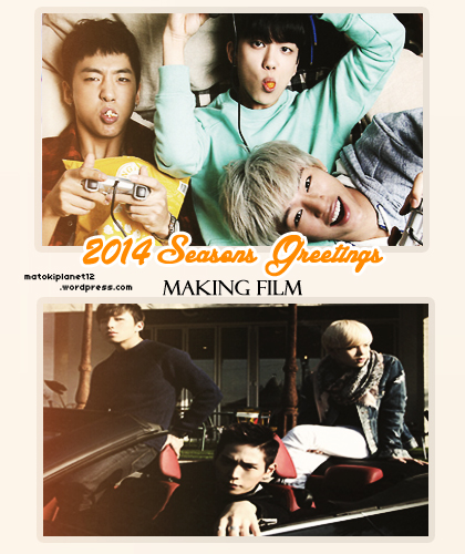 2014 Seasons Greetings Making Film Arabic sub. | мατσĸɪ ...